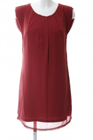 Vero Moda Blusenkleid rot Casual-Look