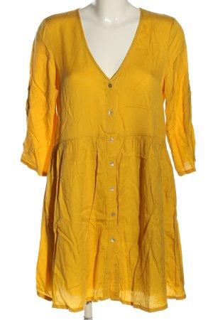 Vero Moda Blusenkleid blassgelb Casual-Look