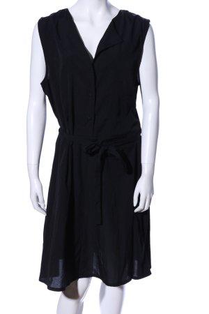 Vero Moda Blusenkleid schwarz Business-Look