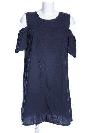 Vero Moda Blusenkleid blau Casual-Look