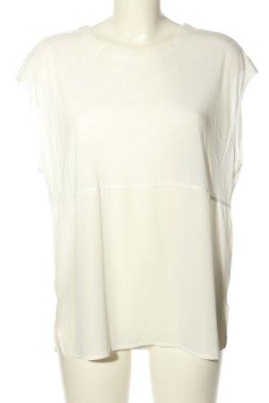 Vero Moda Top koszulowy biały W stylu casual