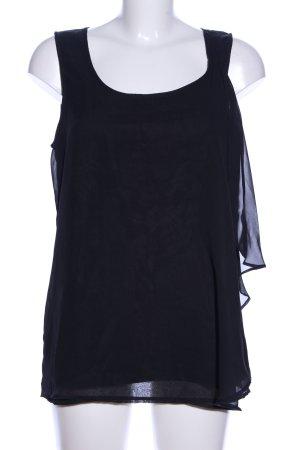 Vero Moda Blouse topje zwart casual uitstraling
