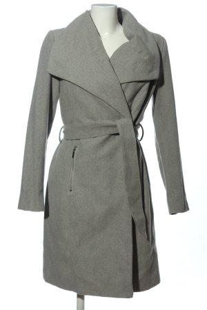 Vero Moda Cappotto lungo fino a terra grigio chiaro stile professionale