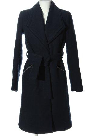 Vero Moda Długi płaszcz czarny W stylu biznesowym