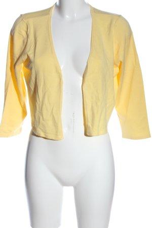Vero Moda Torera amarillo pálido look casual