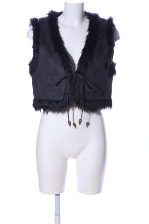 Vero Moda Bolero schwarz Street-Fashion-Look