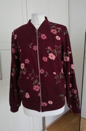 Vero Moda Bomber Jacke mit Kirschblüten