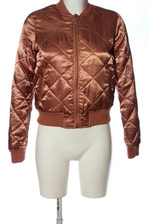 Vero Moda Bomber Jacket nude quilting pattern casual look