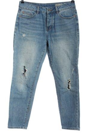 Vero Moda Boyfriend Jeans blue casual look