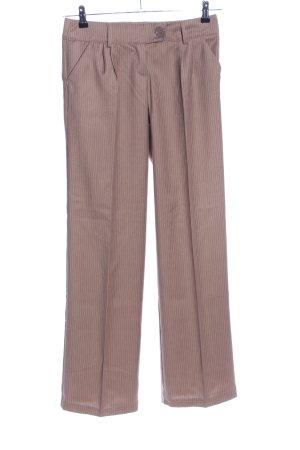 Vero Moda Pantalon à pinces brun imprimé allover style décontracté