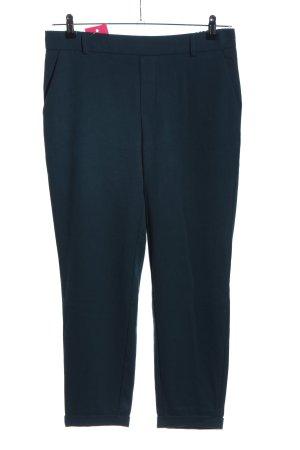 Vero Moda Bundfaltenhose blau Business-Look