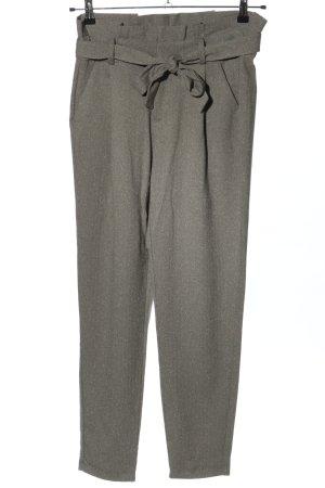 Vero Moda Pleated Trousers light grey flecked casual look