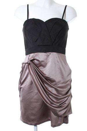 Vero Moda Robe bustier noir-gris lilas style festif