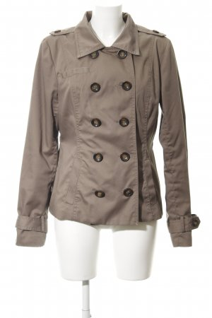 Vero Moda Pea Jacket green grey casual look