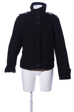 Vero Moda Heavy Pea Coat black business style