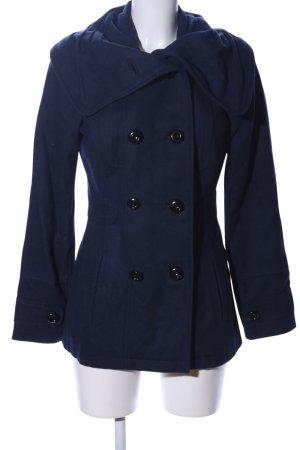 Vero Moda Marynarski płaszcz niebieski W stylu casual
