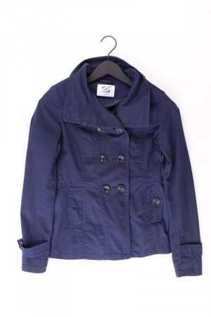 Vero Moda Pea Jacket blue-neon blue-dark blue-azure cotton
