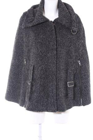 Vero Moda Cape dunkelgrau-schwarz klassischer Stil