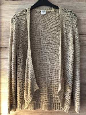 Vero Moda Crochet Cardigan beige-pale yellow