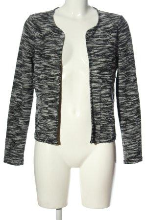 Vero Moda Cardigan schwarz-weiß meliert Elegant