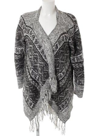 Vero Moda Cardigan abstraktes Muster Casual-Look