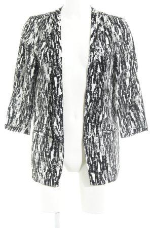 Vero Moda Cardigan schwarz-weiß abstraktes Muster Casual-Look