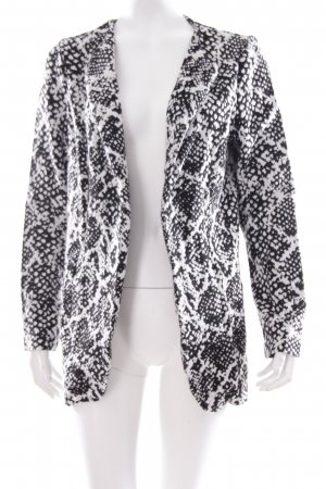 Vero Moda Cardigan weiß-schwarz abstraktes Muster