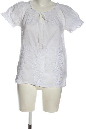 Vero Moda Carmen-Bluse weiß Elegant