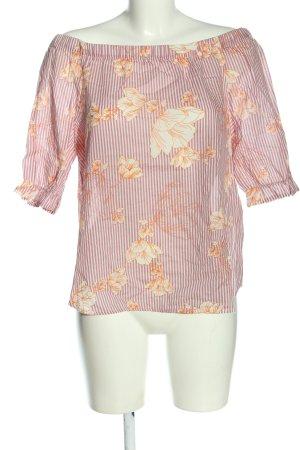 Vero Moda Bluzka typu carmen Na całej powierzchni W stylu casual