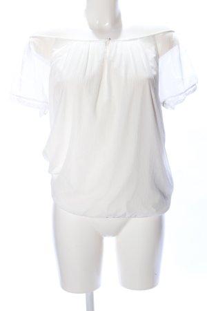 Vero Moda Camisa tipo Carmen blanco look casual