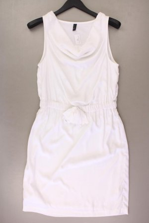 Vero Moda Chiffonkleid Größe 38 Ärmellos weiß aus Polyester