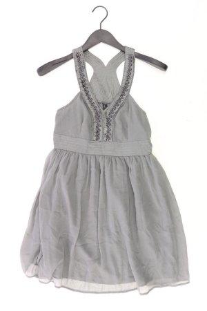 Vero Moda Chiffonkleid Größe S Träger grau aus Polyester