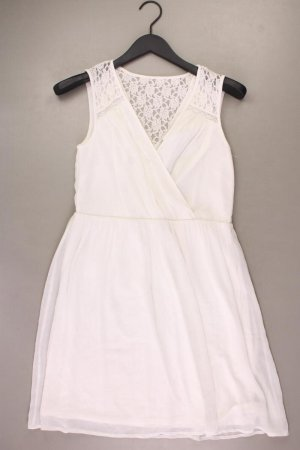 Vero Moda Chiffon Dress natural white polyester