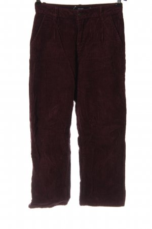 Vero Moda Corduroy Trousers red casual look