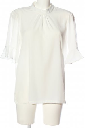 Vero Moda Blouse en crash blanc style d'affaires