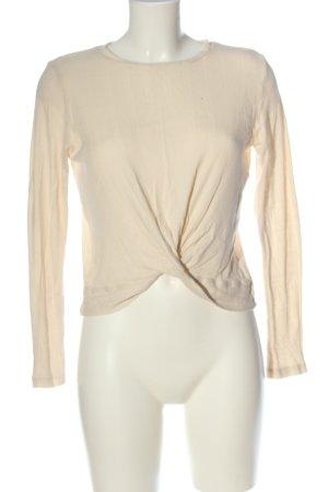 Vero Moda Camicia cropped crema stile semplice