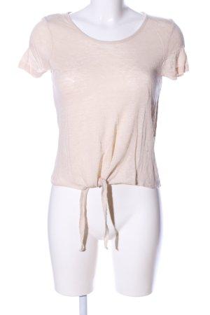 Vero Moda Cropped Shirt cream casual look