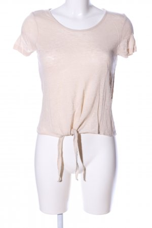 Vero Moda Cropped Shirt creme Casual-Look