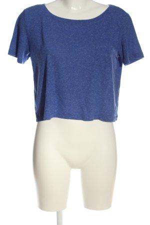 Vero Moda Camicia cropped blu puntinato stile casual