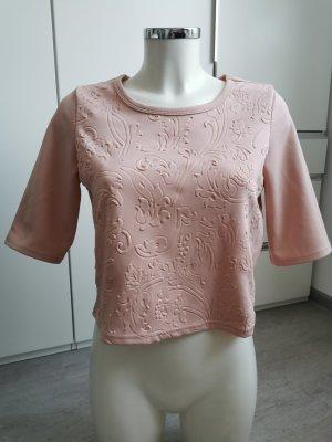 Vero Moda Camicia cropped rosa antico-rosa pallido