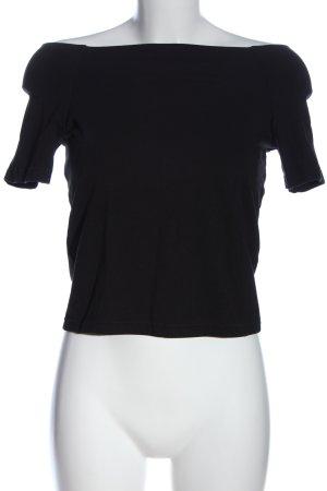 Vero Moda Cropped Top schwarz Casual-Look