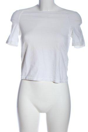 Vero Moda Cropped Top weiß Casual-Look