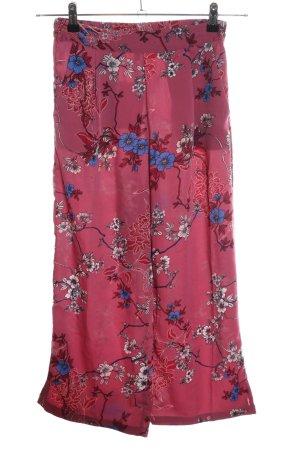 Vero Moda Culottes rot Blumenmuster Casual-Look