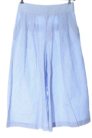 Vero Moda Culottes blue-white striped pattern casual look
