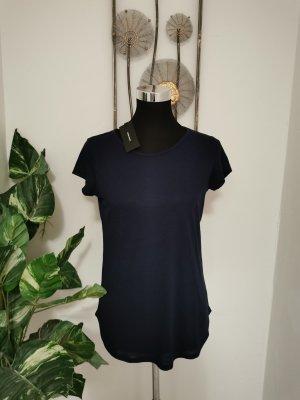 Vero Moda Damen Shirt O Neck Top Navy Blazer T-Shirt marine Größe XS NEU