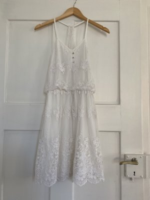 Vero Moda Damen Sommerkleid Weiß Gr. XS TOP !!