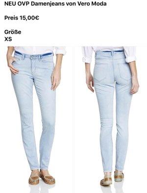 Vero Moda Jeans skinny bleu clair