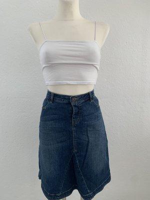 Vero moda denim blau jeans Rock low waist gr 40