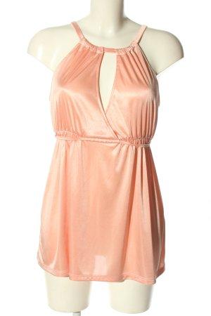 Vero Moda Haut taille empire rose chair style décontracté