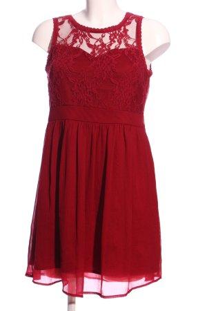 Vero Moda Empire Dress red elegant
